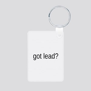 got lead Aluminum Photo Keychain