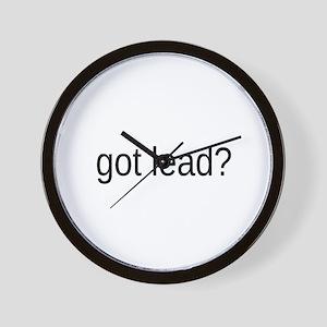 got lead Wall Clock