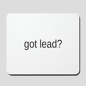 got lead Mousepad