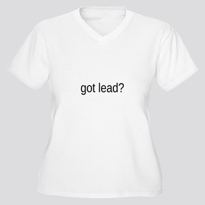 got lead Women's Plus Size V-Neck T-Shirt