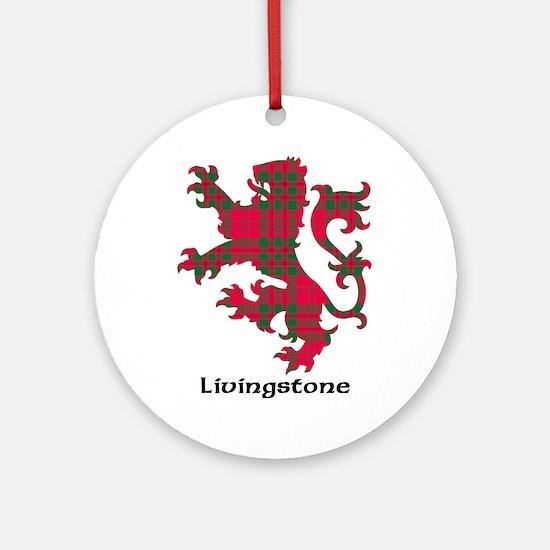 Lion - Livingstone Ornament (Round)