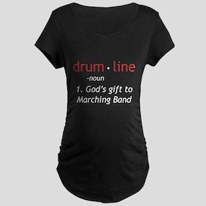 Definition of Drumline Maternity Dark T-Shirt