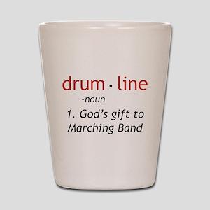 Definition of Drumline Shot Glass