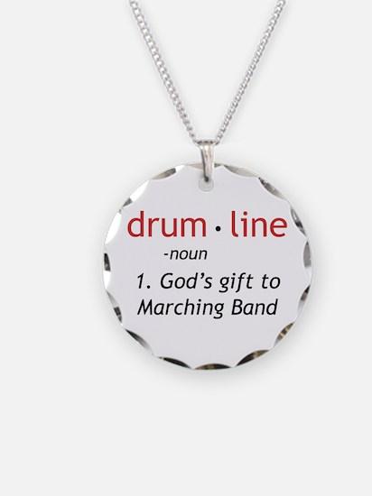 Definition of Drumline Necklace