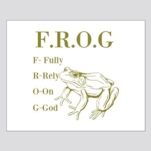 FROG Small Poster