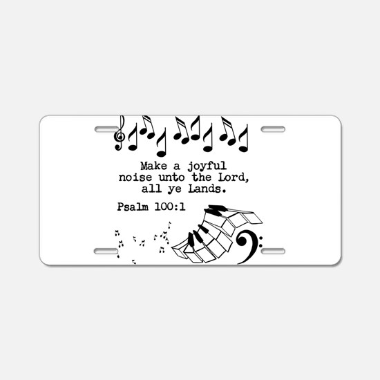 PRAISE Aluminum License Plate