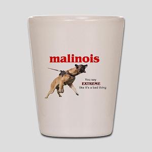 Schutzhund Malinois Shot Glass