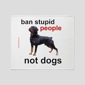 Rottweilers! Throw Blanket