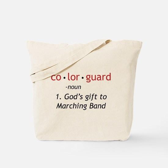 Definition of Colorguard Tote Bag