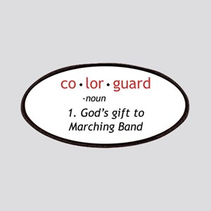 Definition of Colorguard Patches