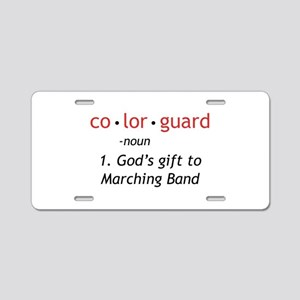 Definition of Colorguard Aluminum License Plate