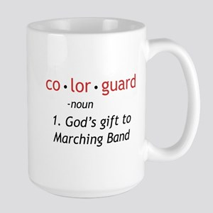 Definition of Colorguard Large Mug