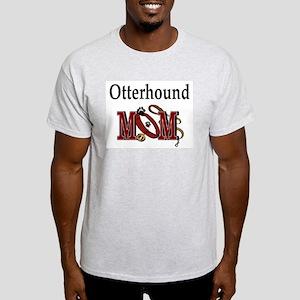 Otterhound Mom Ash Grey T-Shirt