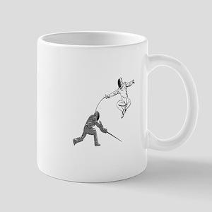 Fencing Match Mugs