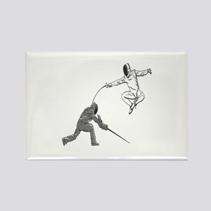Fencing Match Magnets