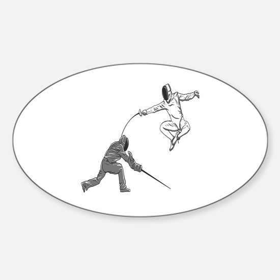 Fencing Match Decal