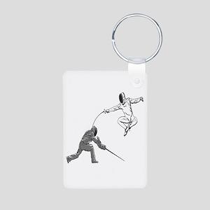 Fencing Match Keychains