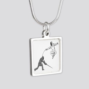 Fencing Match Necklaces