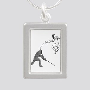 Fencing Match Necklaces