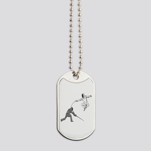 Fencing Match Dog Tags