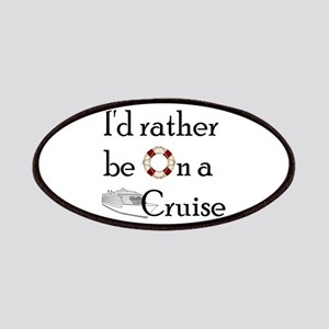 I'd Rather Cruise Patches