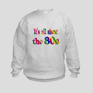 All About 80s Kids Sweatshirt
