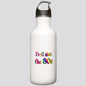 All About 80s Stainless Water Bottle 1.0L