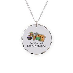 Gardens are God's Blessing Necklace
