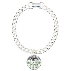 Give a Weed an Inch Bracelet