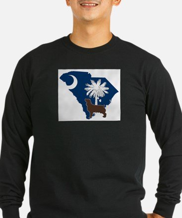South Carolina Boykin Spanie Long Sleeve T-Shirt