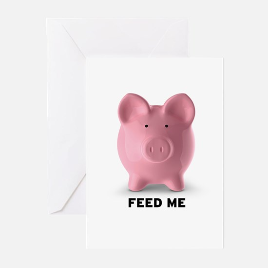 Feed Me Greeting Cards (Pk of 20)