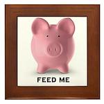 Feed Me Framed Tile