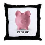 Feed Me Throw Pillow