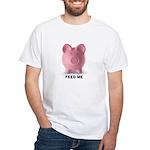 Feed Me White T-Shirt