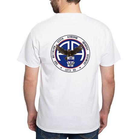 2nd / 325th AIR White T-Shirt