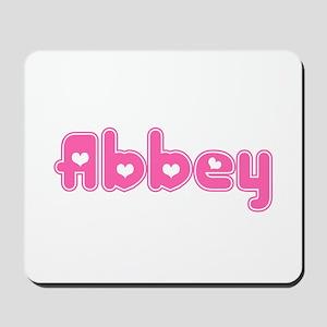 """Abbey"" Mousepad"