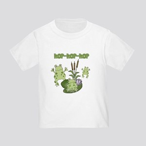 Frog Hop Toddler T-Shirt