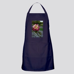 End of Summer Rose Apron (dark)