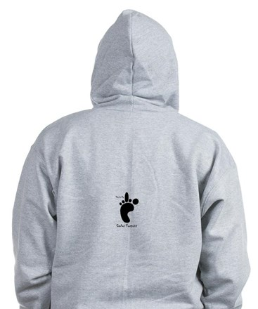 My Carbon Footprint Zip Hoodie