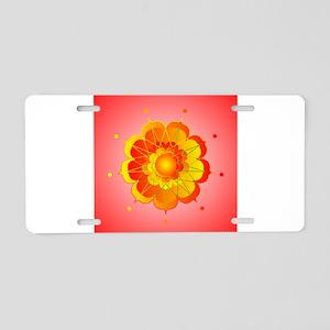 Spiritual Sunshine Aluminum License Plate