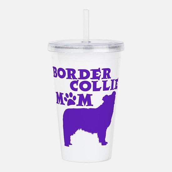 Border Collie MOM Acrylic Double-wall Tumbler