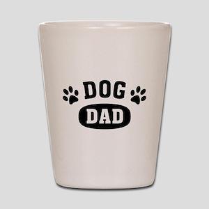 Dog Dad Shot Glass