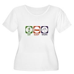 Eat. Sleep. Work. T-Shirt