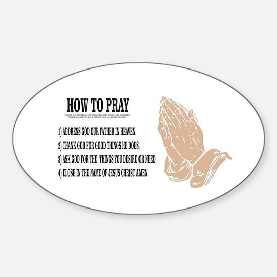 prayer lesson Decal