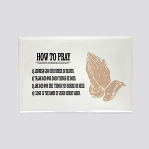 prayer lesson Magnets