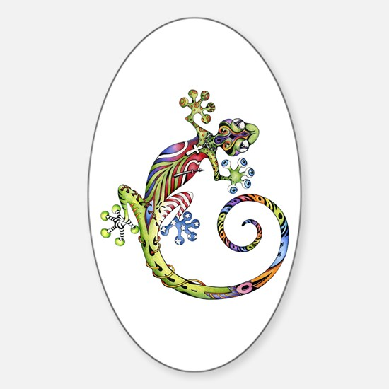 ART GECKO - Sticker (Oval)