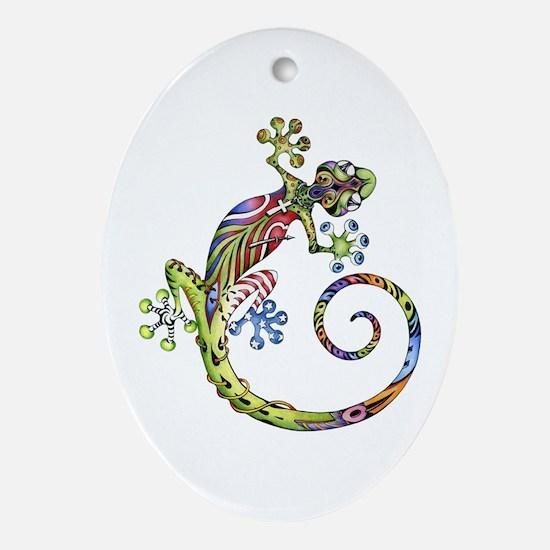 ART GECKO - Ornament (Oval)