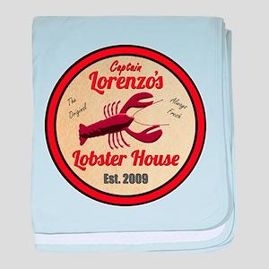 Lobster House 1- baby blanket