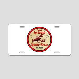 Lobster House 1- Aluminum License Plate