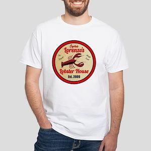 Lobster House 1- White T-Shirt